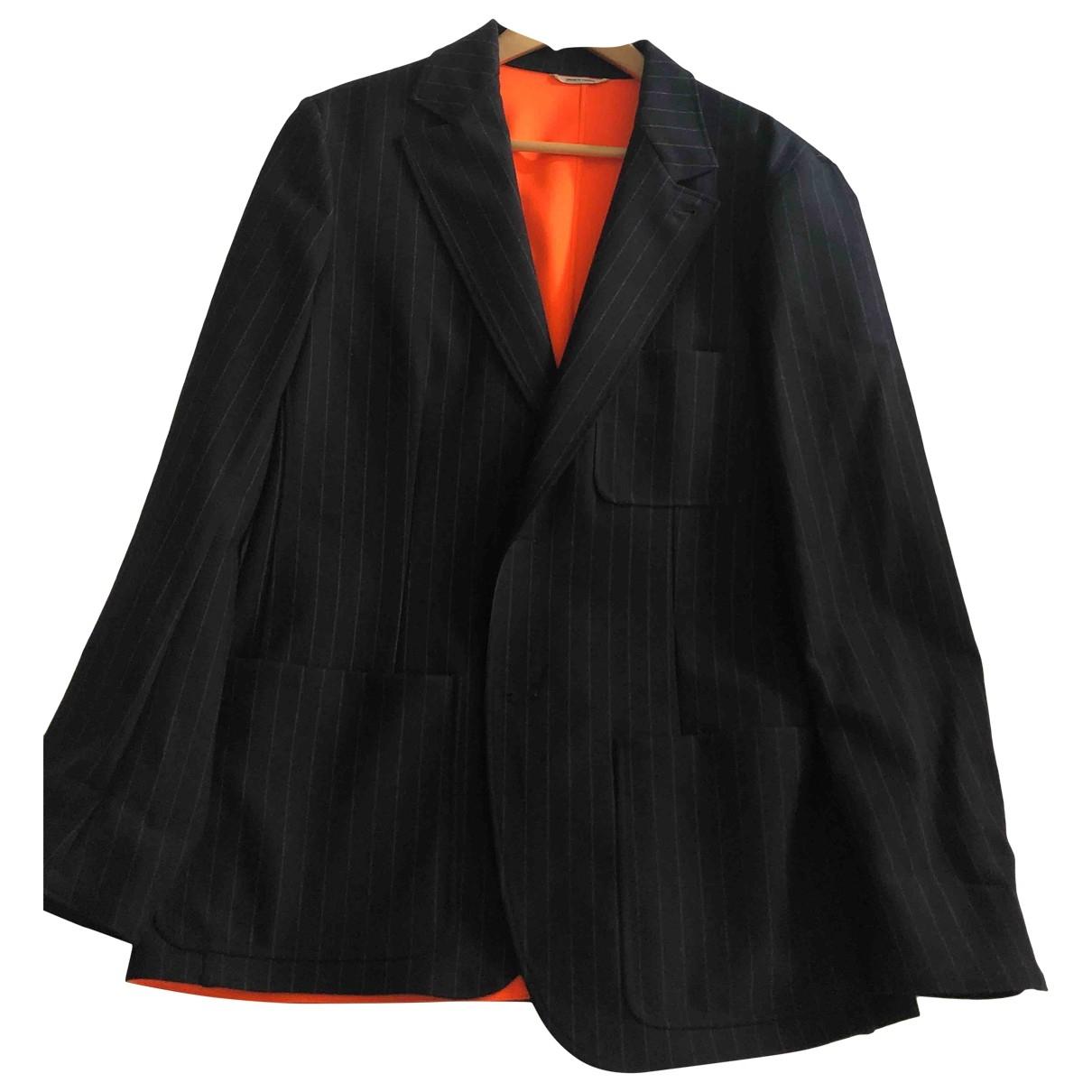 Hermes \N Jacke in  Schwarz Wolle