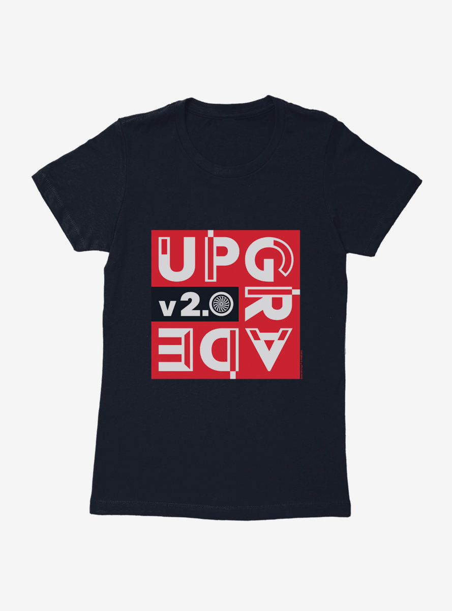 Doctor Who Upgrade V2 Womens T-Shirt