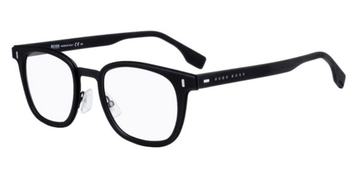 Boss by Hugo Boss Boss 0969 003 Men's Glasses Black Size 50 - Free Lenses - HSA/FSA Insurance - Blue Light Block Available