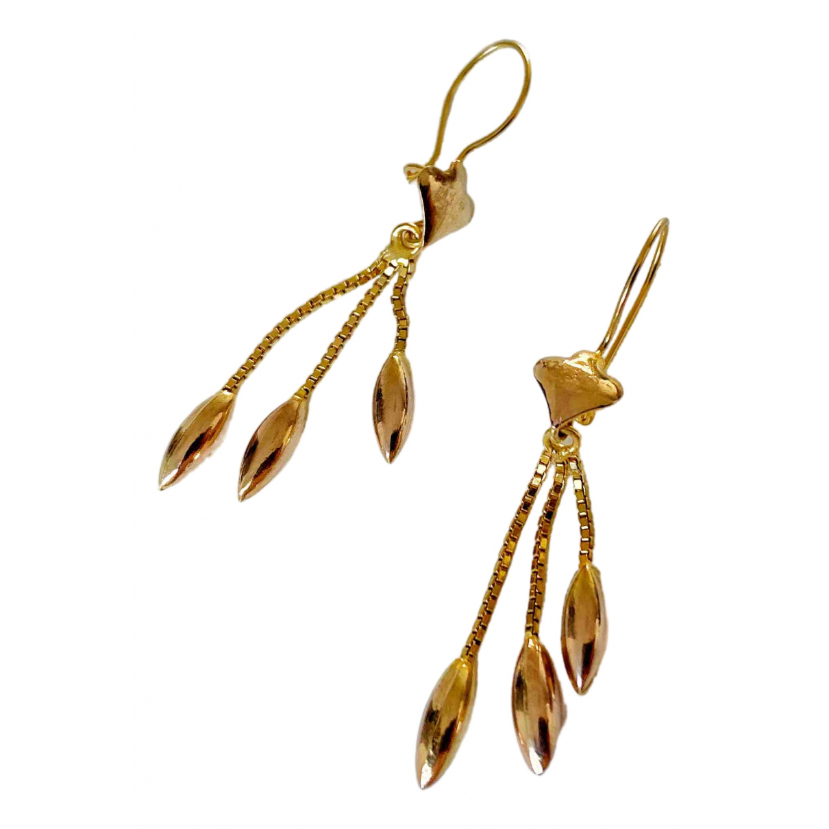 Non Signé / Unsigned \N Gold Yellow gold Earrings for Women \N