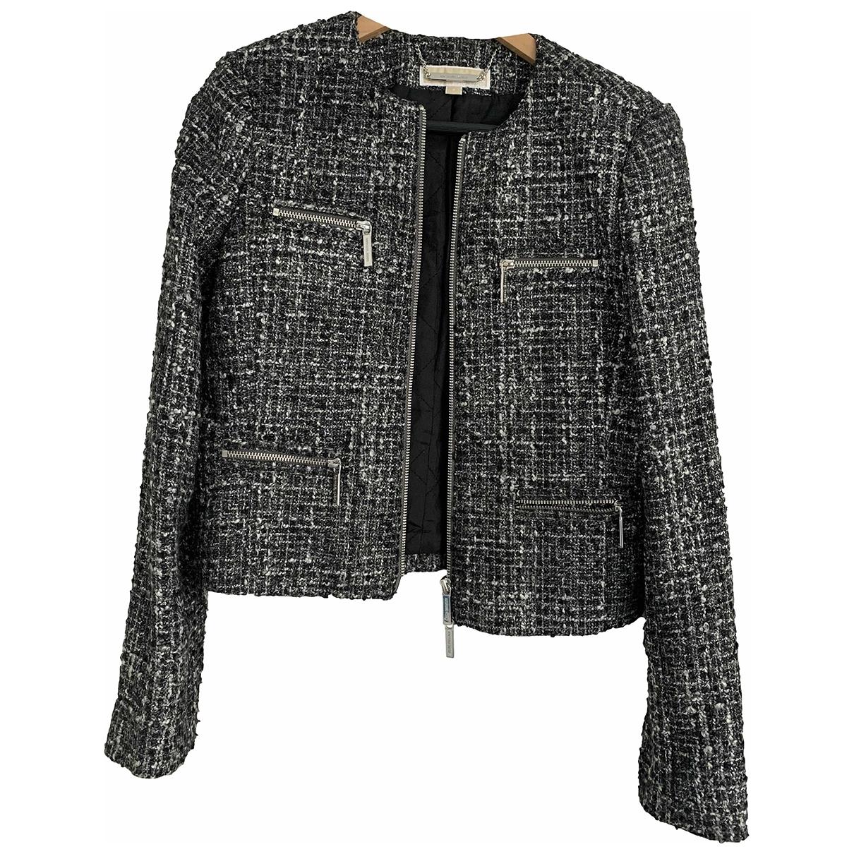 Michael Kors - Veste   pour femme en tweed - gris