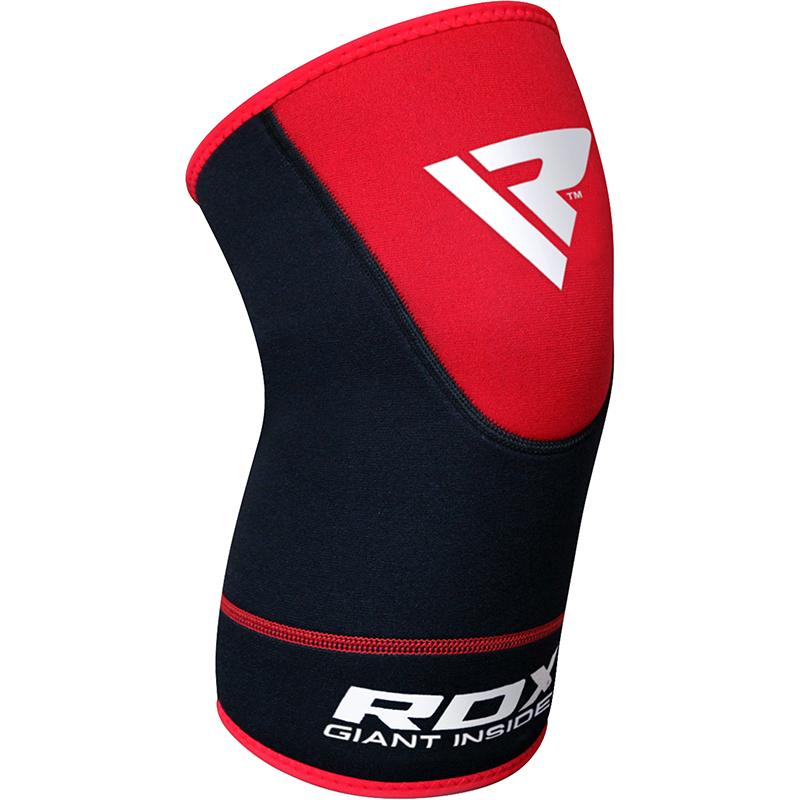 RDX Genouillere Rotulienne 2X Grande  Rouge Neoprene