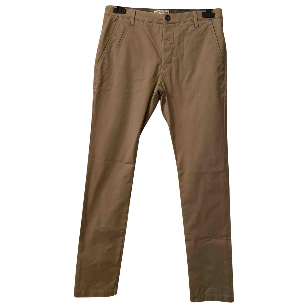 Pantalones en Algodon Beige All Saints