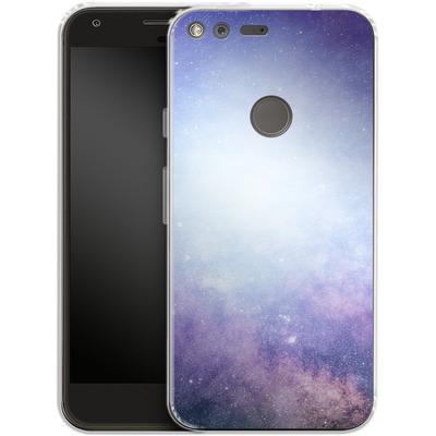 Google Pixel Silikon Handyhuelle - Star Nebula von caseable Designs