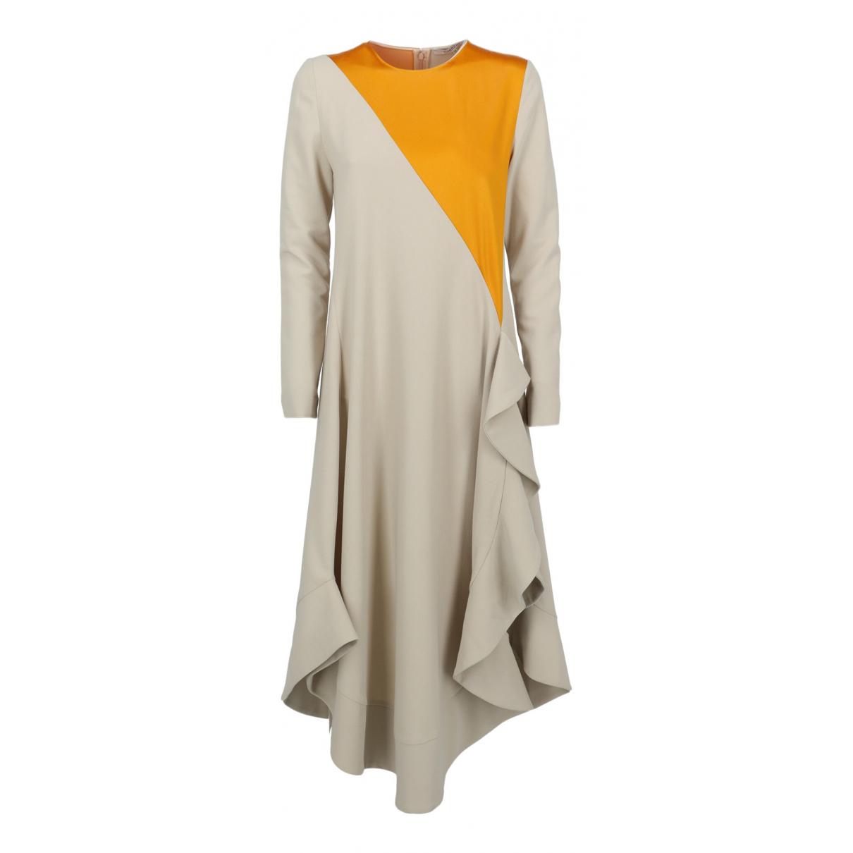 Givenchy \N Kleid in  Beige Baumwolle