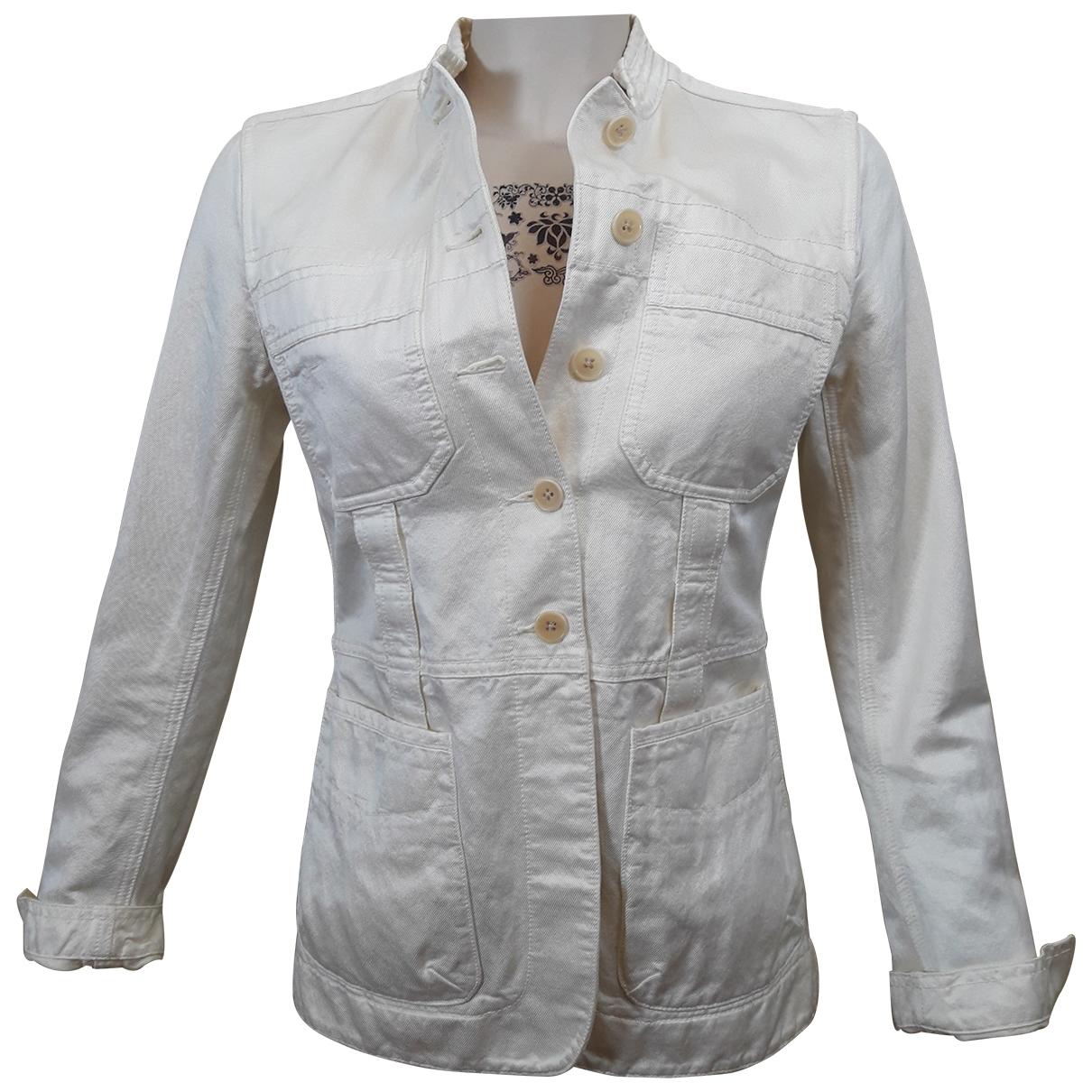 Dkny \N Beige Cotton jacket for Women 4 US