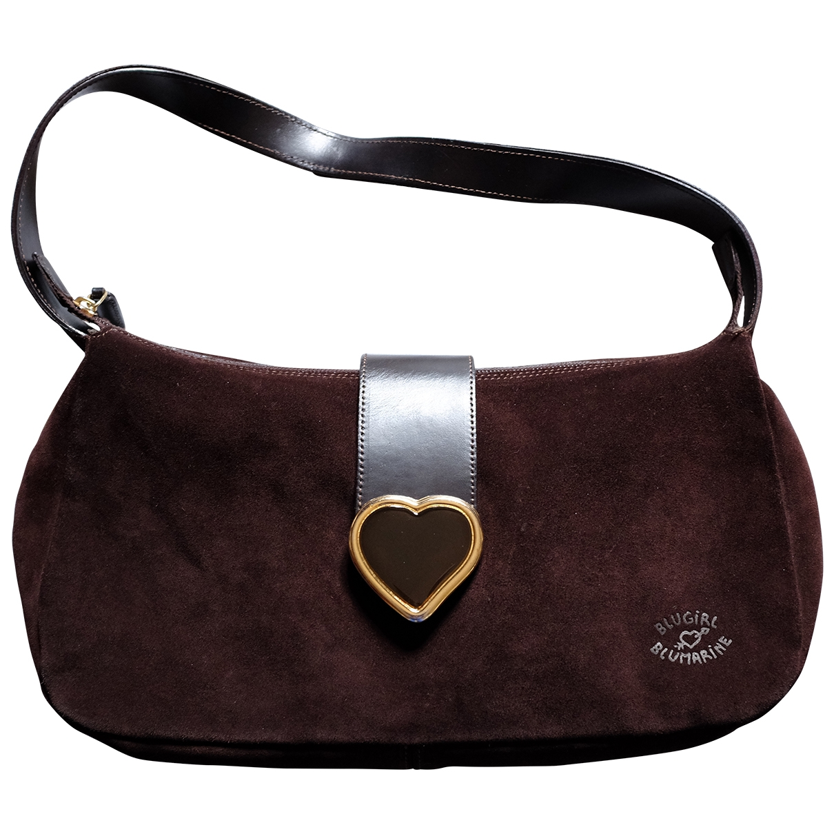 Blumarine \N Brown Suede handbag for Women \N