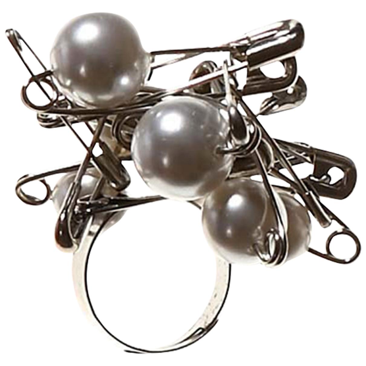 - Bague   pour femme en metal - argente