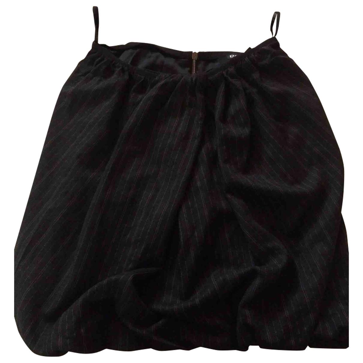 D&g \N Grey Wool skirt for Women 40 IT