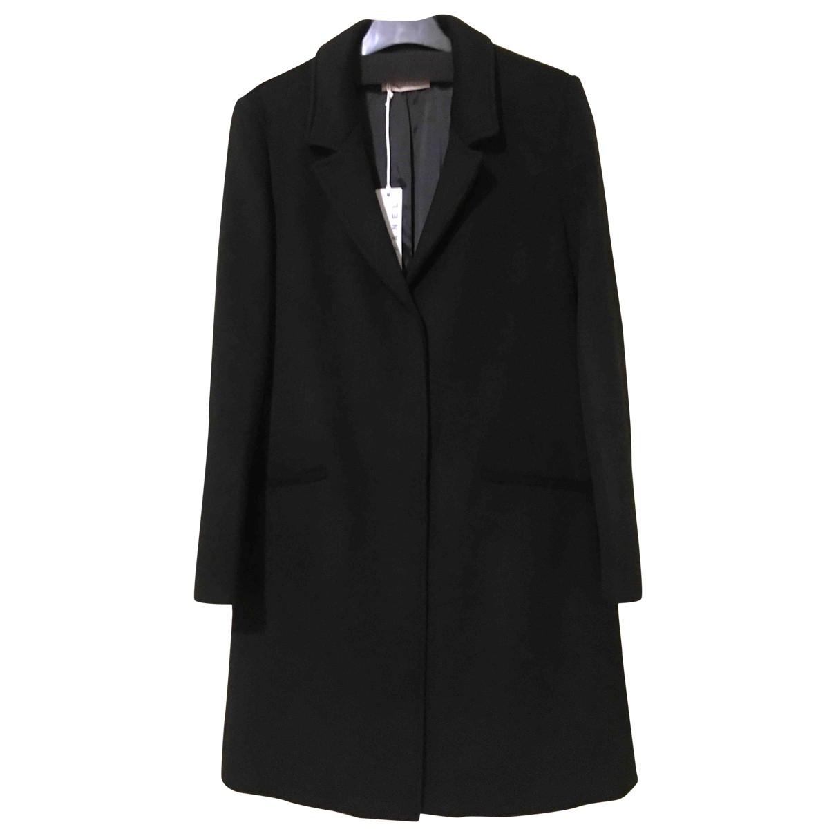 Stefanel \N Black Wool coat for Women 38 FR