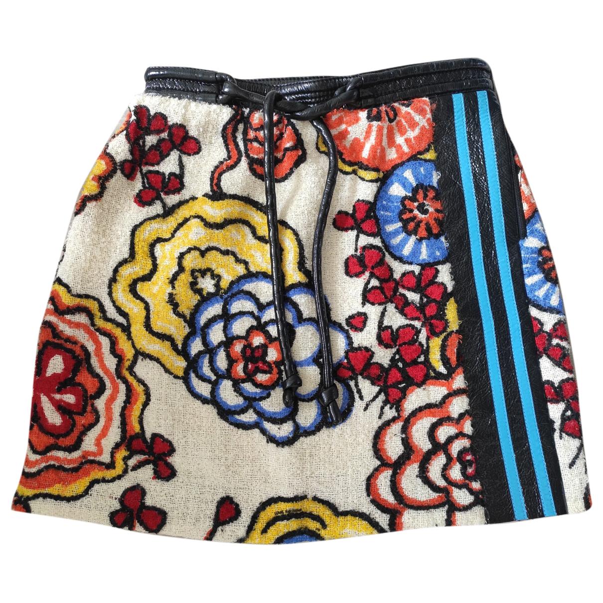 Louis Vuitton - Jupe   pour femme en laine - multicolore