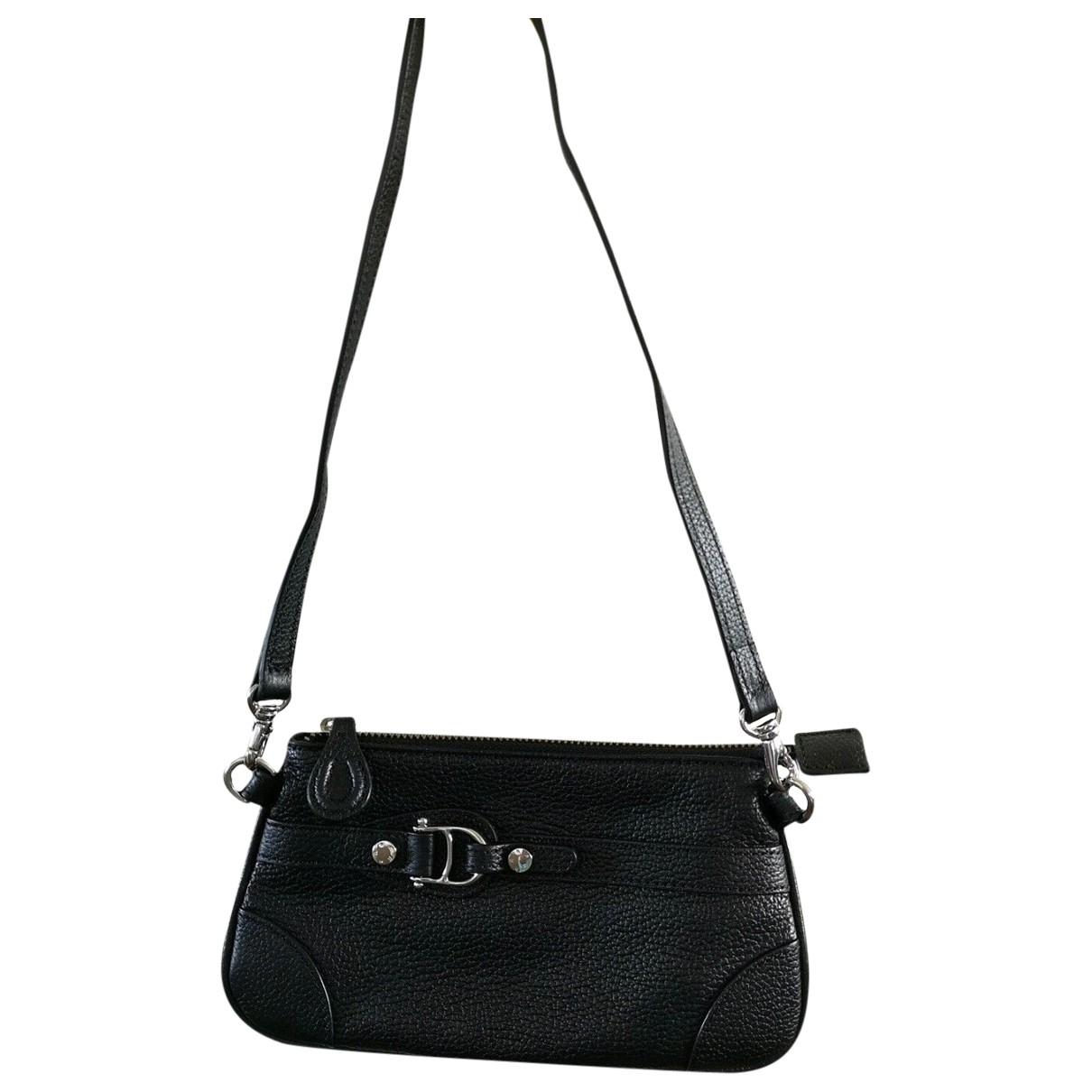 Etienne Aigner \N Black Leather handbag for Women \N