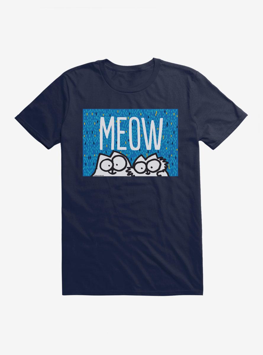 Simon's Cat Meow Cats T-Shirt