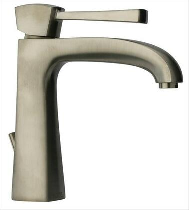 89PW211 Lady Single Hole 1-Handle Low-Arc Bathroom Faucet in Brushed