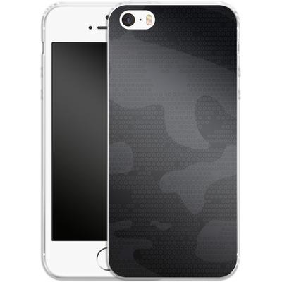 Apple iPhone SE Silikon Handyhuelle - Spec Ops Dark von caseable Designs
