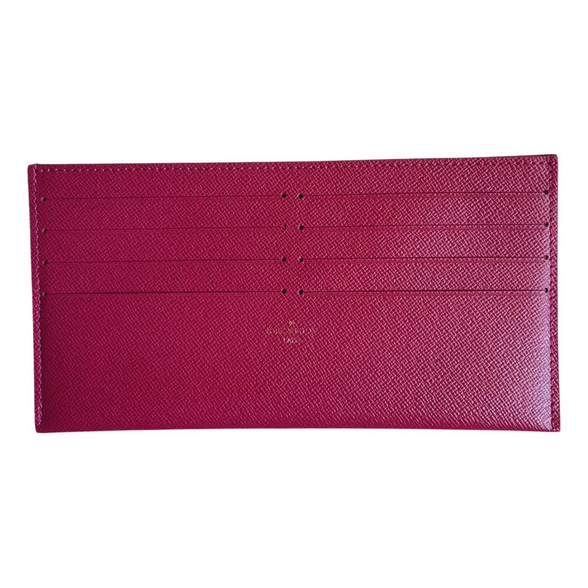 Louis Vuitton \N Kleinlederwaren in  Rosa Leder
