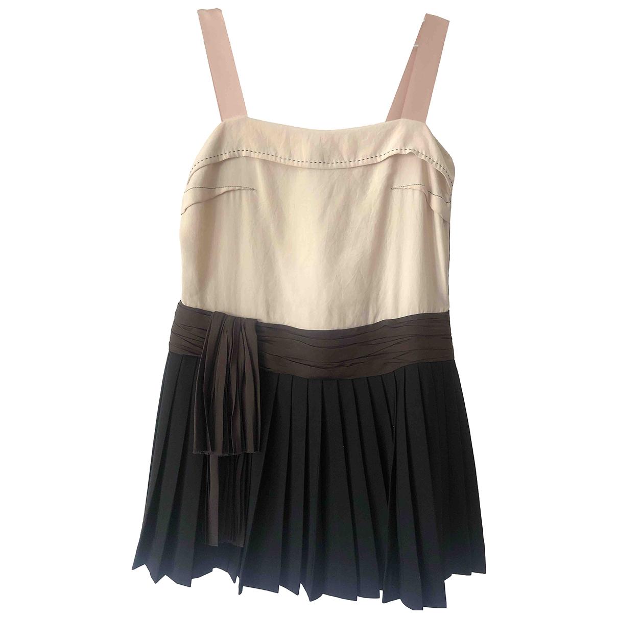 Lanvin - Robe   pour femme en soie