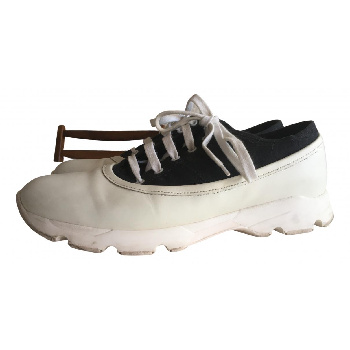 Marni \N Sneakers in  Weiss Kautschuk