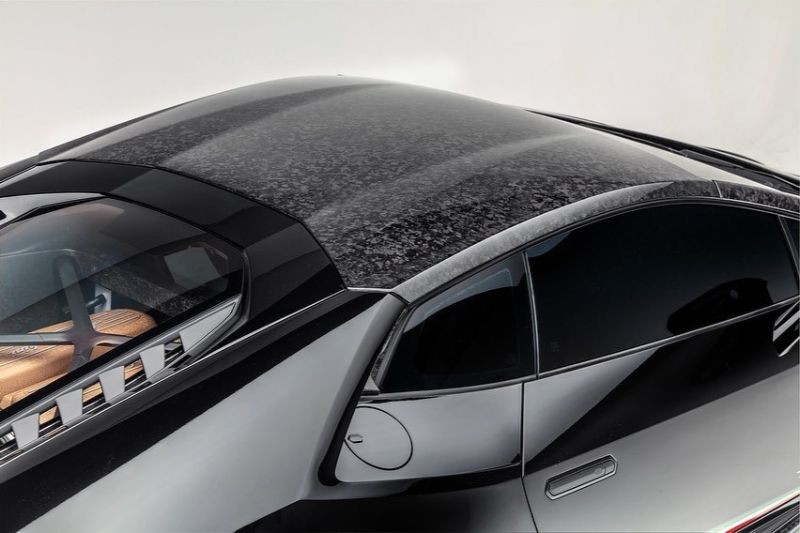 1016 Industries LAM-HUR-ROOF-FORGED Carbom Fiber Huracan Roof and Pilar Forged Lamborghini Huracan LP580 15-19 | LP610 16-19 | EVO 19-20 | Performante