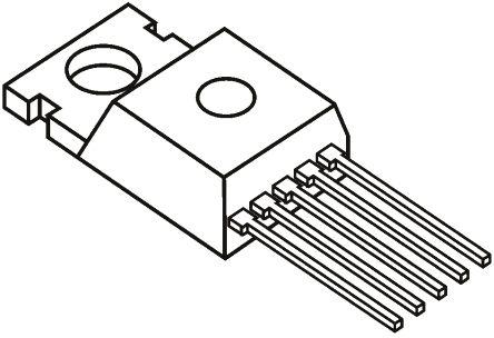 Texas Instruments LP2957AIT/NOPB, LDO Voltage Regulator, 250mA, 4.93 → 5.07 V, 1.4% 5-Pin, TO-220 (2)