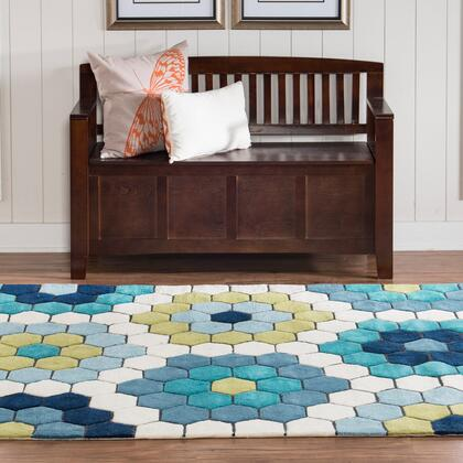 RUGLS3257 5 x 8 Rectangle Area Rug in