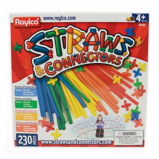 Straws & Connectors™, 230 Pieces By Roylco | Michaels®
