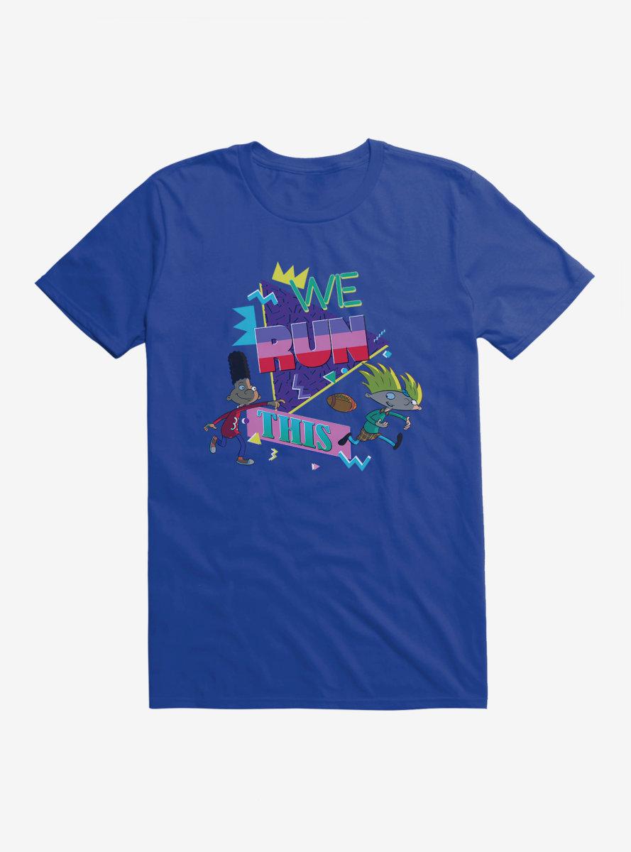 Hey Arnold! Football We Run This T-Shirt