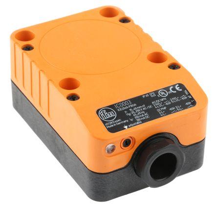 ifm electronic Inductive Sensor - Block, NO/NC Output, 40 mm Detection, IP65, M20 Gland Terminal