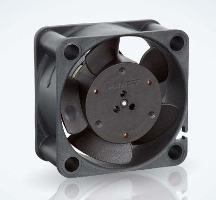 ebm-papst , 12 V dc, DC Axial Fan, 40 x 40 x 20mm, 10m³/h, 1W, IP20