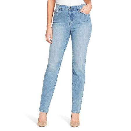 Gloria Vanderbilt Amanda Jeans, 8 Petite , Blue