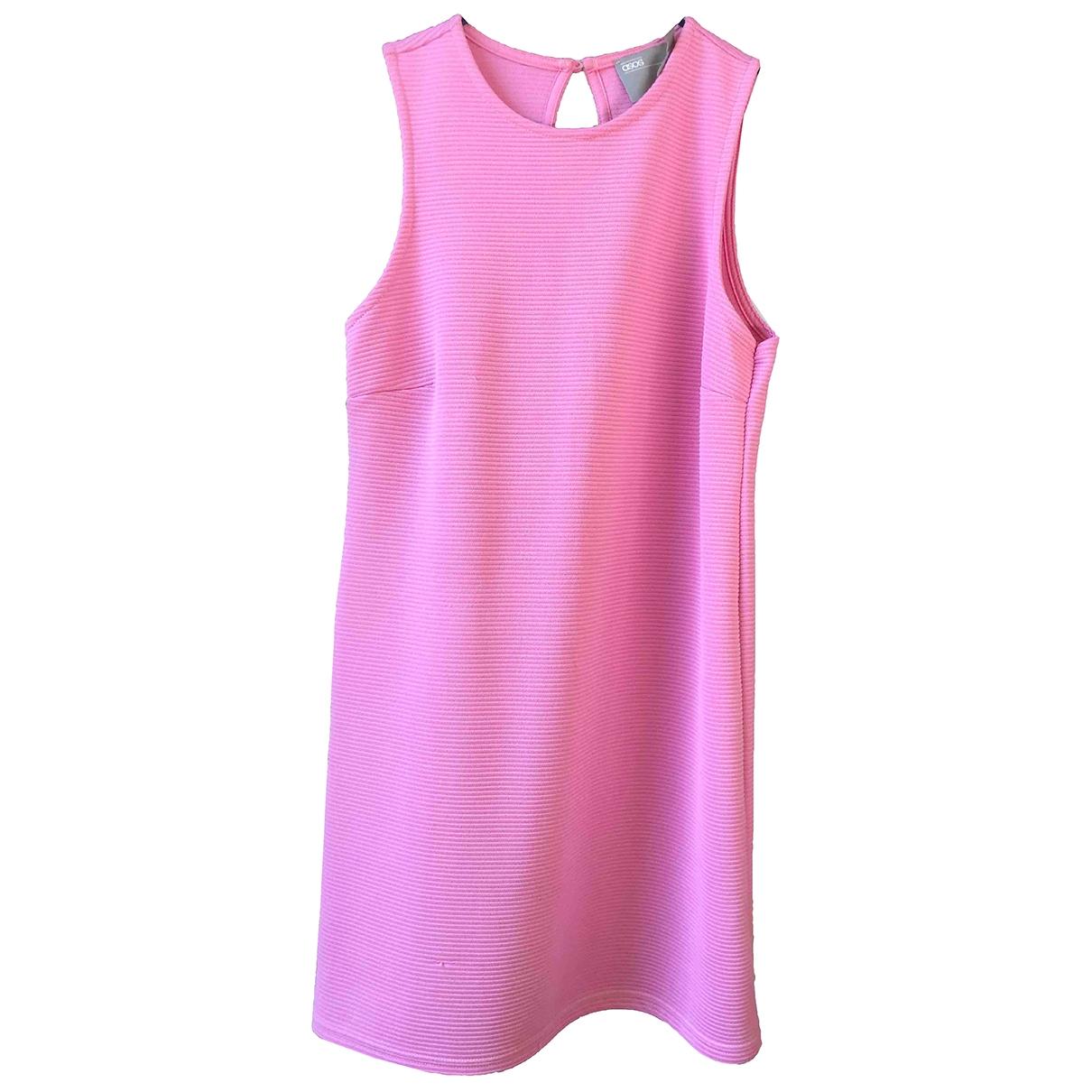 Asos \N Kleid in  Rosa Baumwolle - Elasthan
