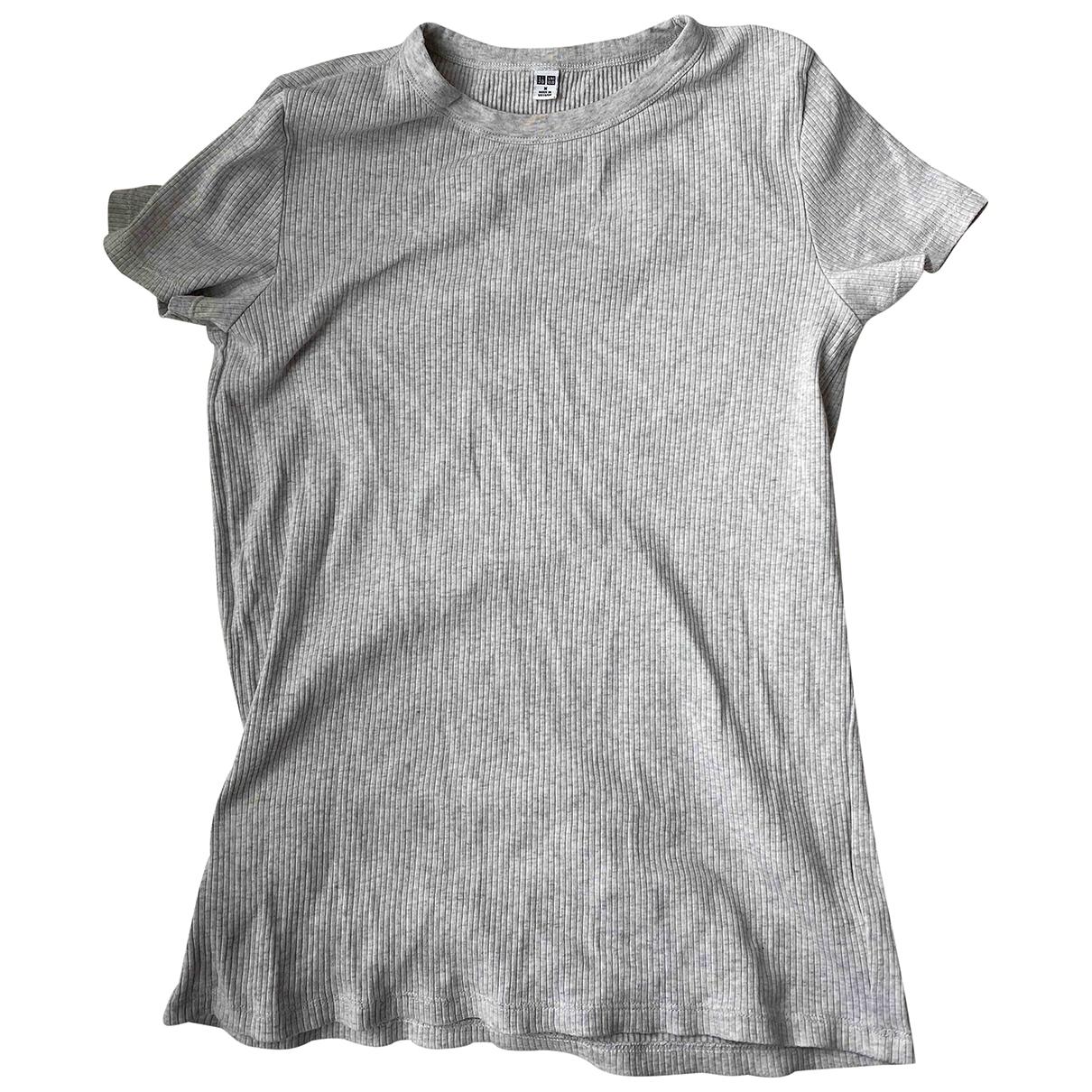 Uniqlo \N Top in  Grau Baumwolle