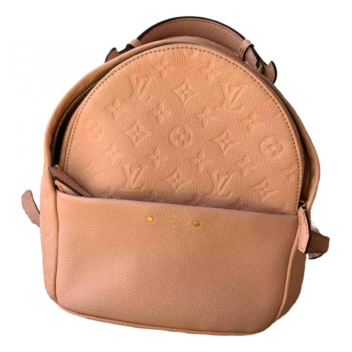 Louis Vuitton Sorbonne Backpack Pink Leather backpack for Women \N