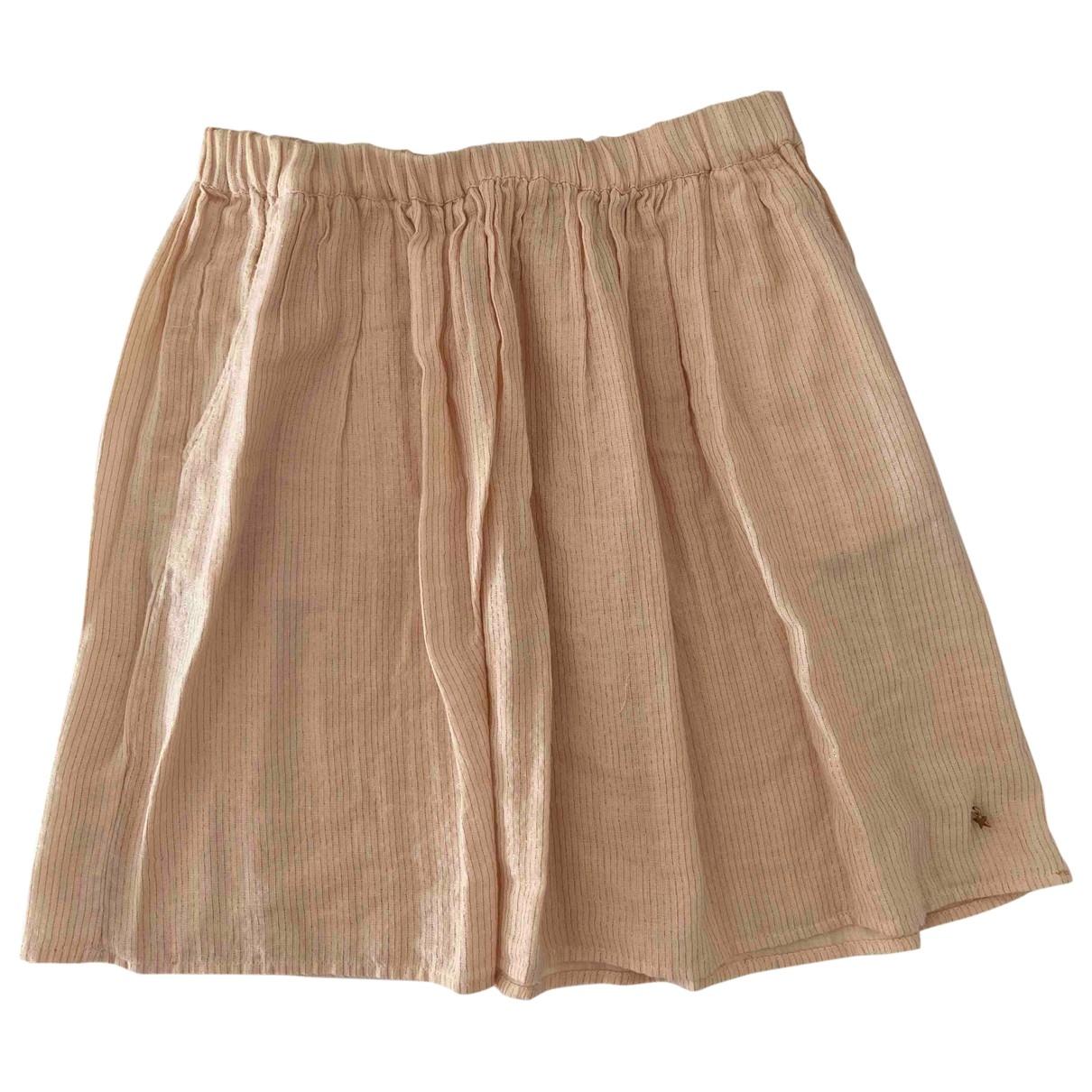 Des Petits Hauts - Jupe   pour femme en coton - rose