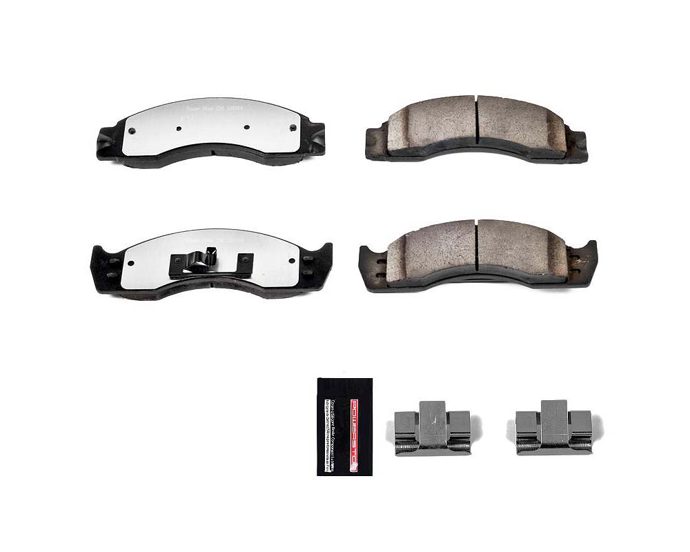 Power Stop Z36-411 Z36 Truck & Tow Brake Pads w/Hardware Front or Rear Ford E-450 Super Duty 2001-2002
