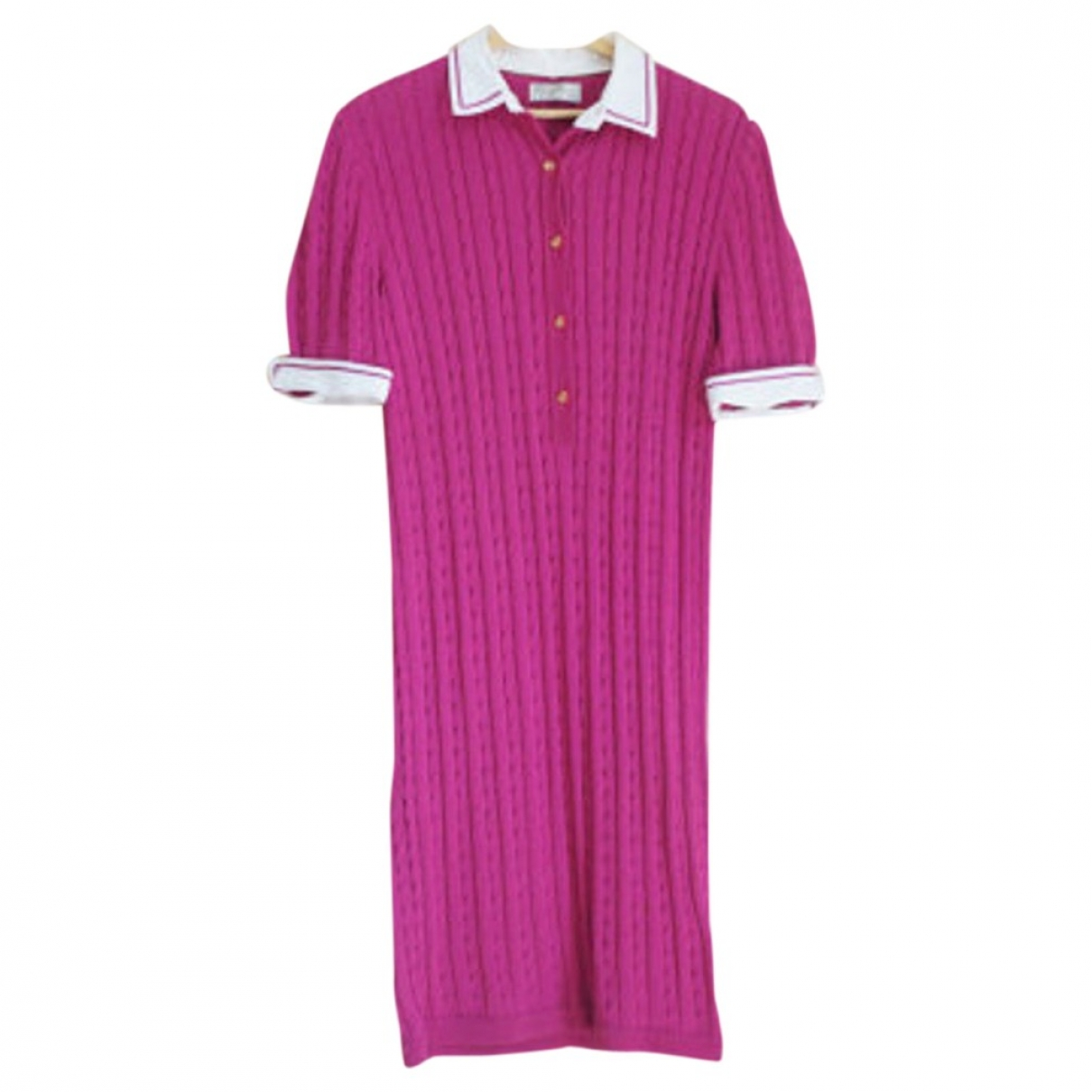 Non Signé / Unsigned \N Pink dress for Women M International