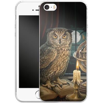 Apple iPhone 5s Silikon Handyhuelle - The Astrologer von Lisa Parker