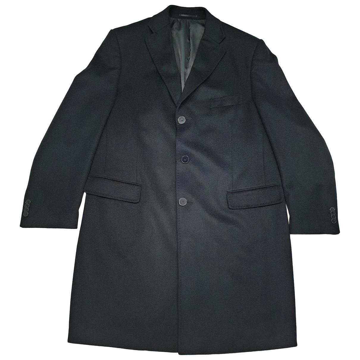 Valentino Garavani \N Navy Wool coat  for Men 54 IT