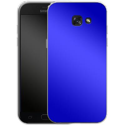 Samsung Galaxy A5 (2017) Silikon Handyhuelle - Test Blue von caseable Designs