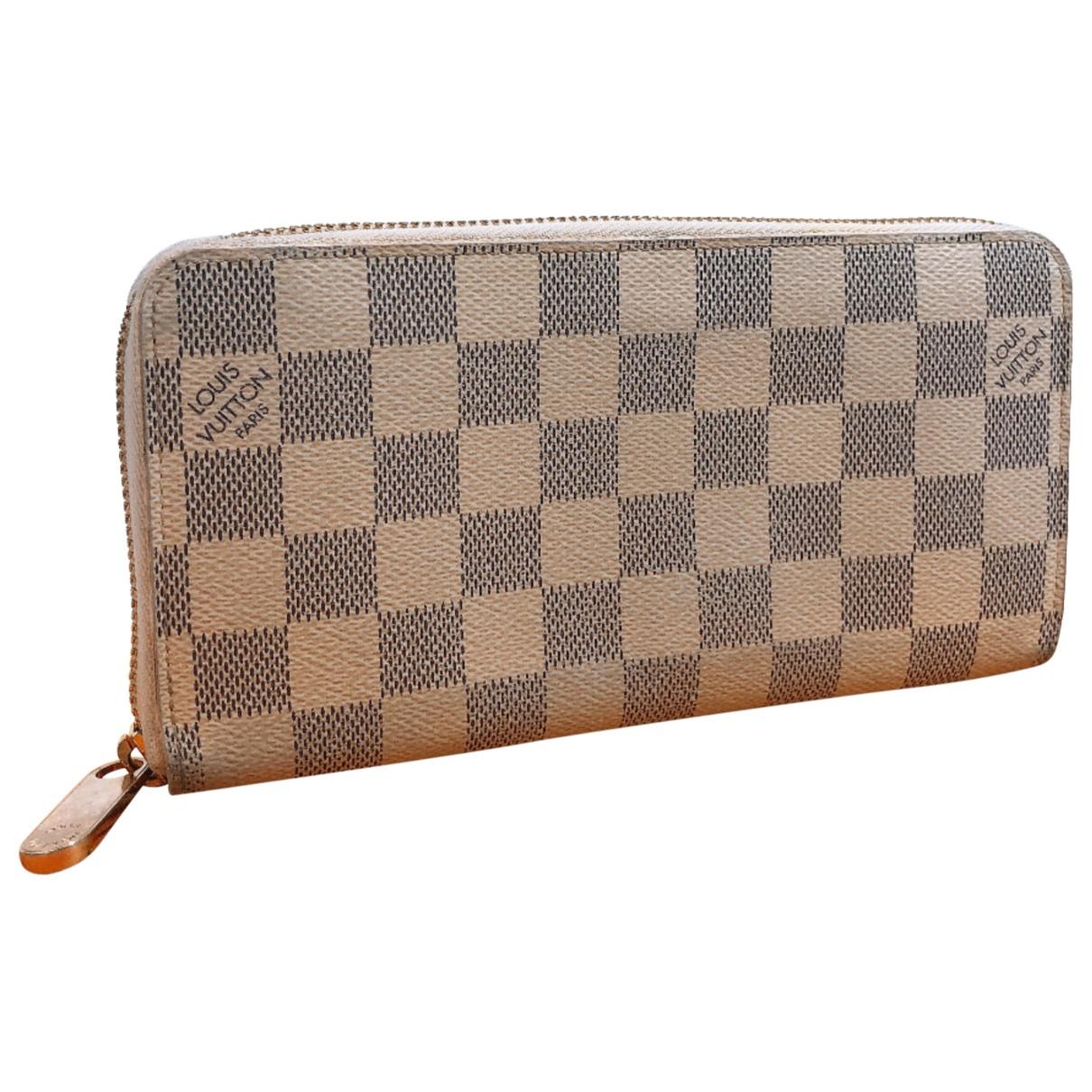 Louis Vuitton Zippy Blue Cloth wallet for Women N