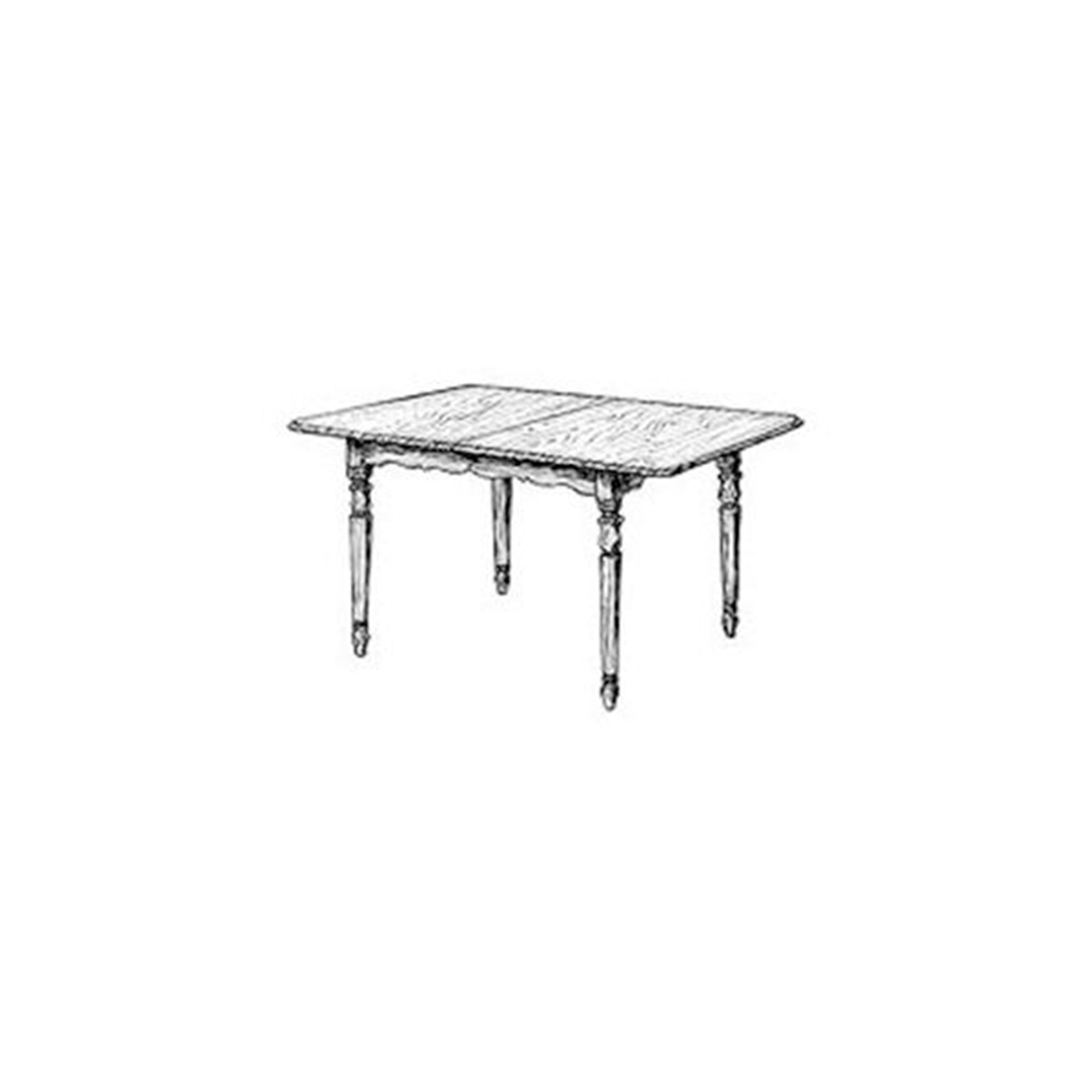 Woodworking Project Paper Plan to Build Extension Dining Table