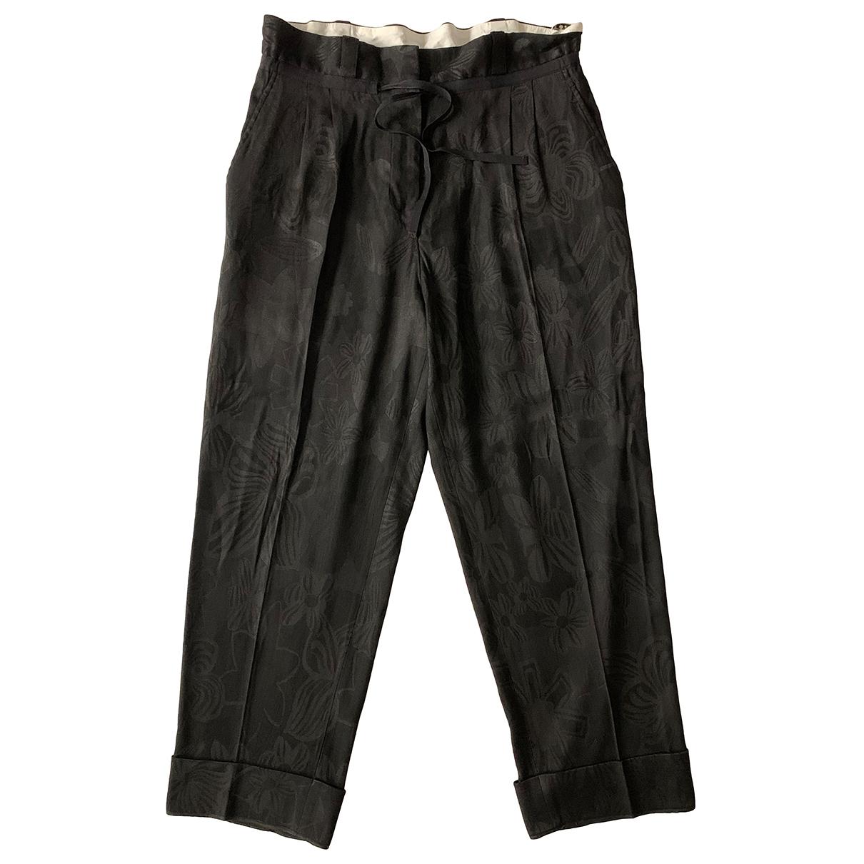 Acne Studios N Black Trousers for Women 38 FR
