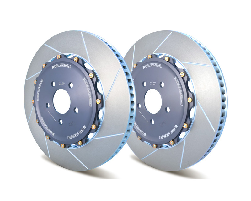 Girodisc A1-100 Front 380mm 2 Piece Rotor Upgrade Audi RS4 06-08