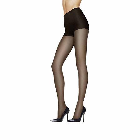 Hanes Silk Reflections Sheer Support Pantyhose, Ef , Black