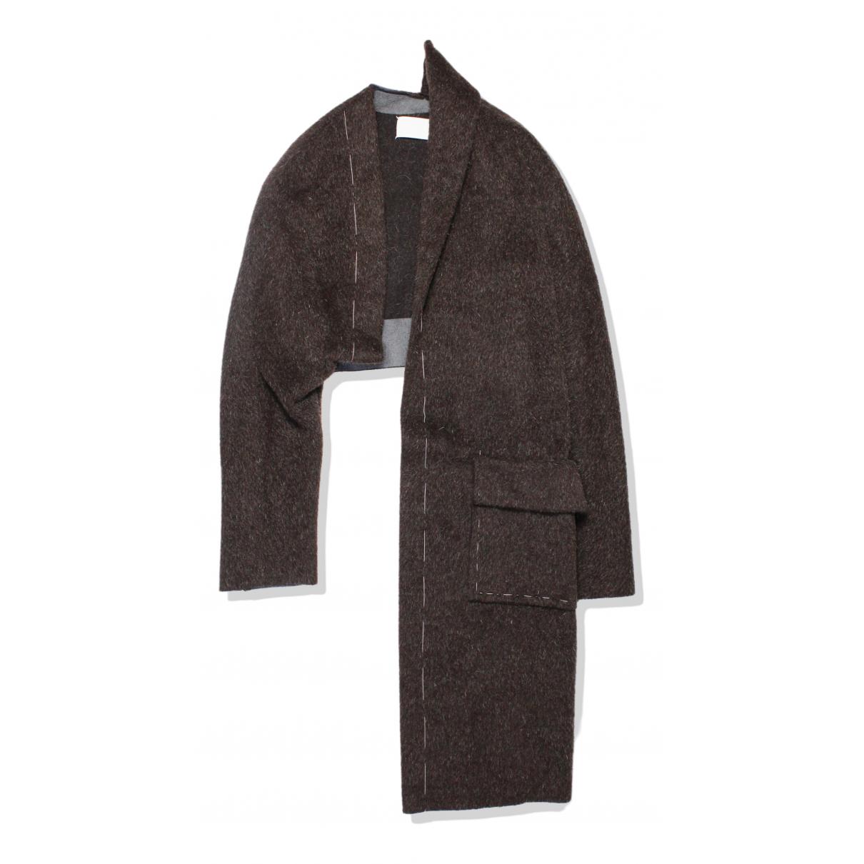 Maison Martin Margiela \N Brown Wool coat for Women 40 IT