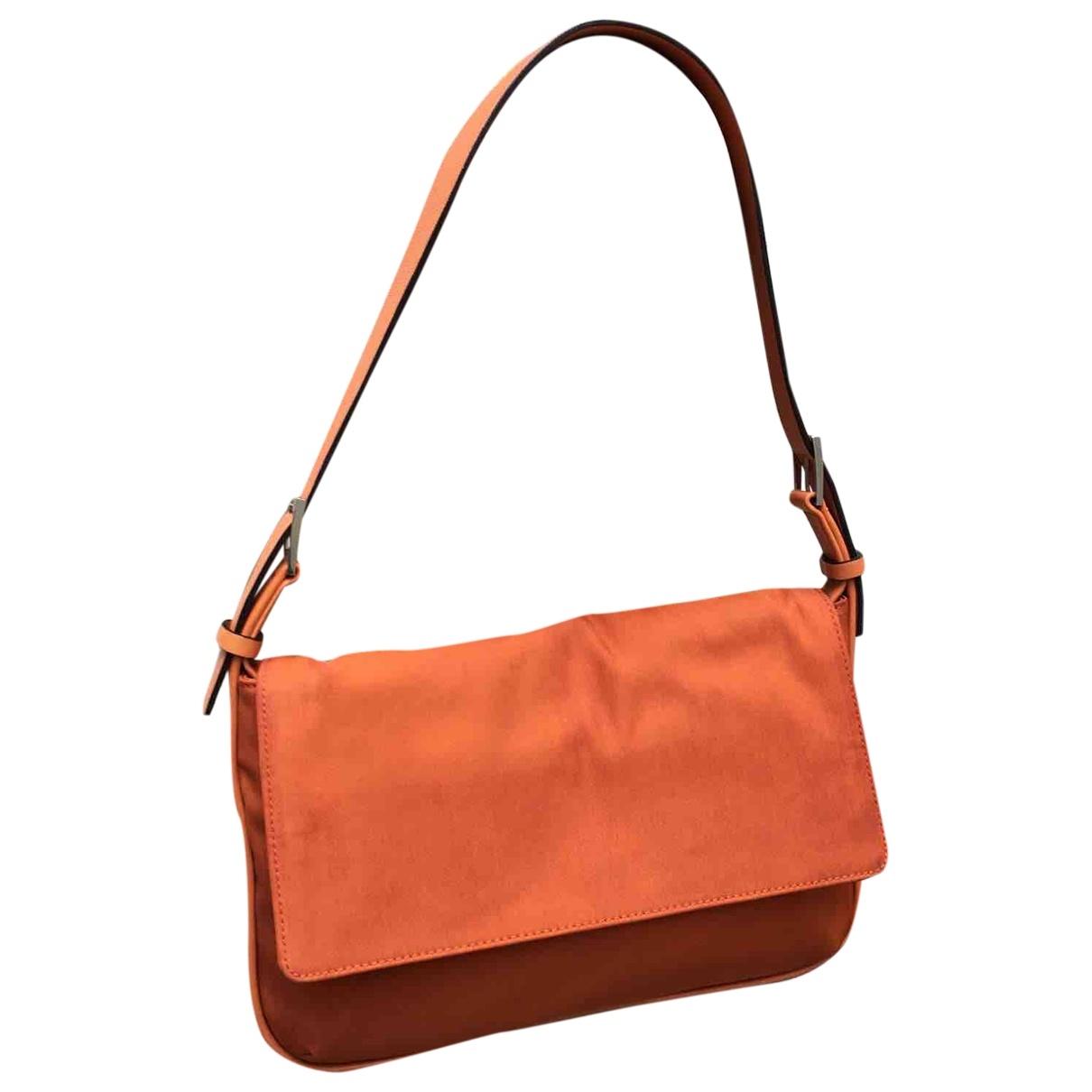 Strenesse \N Orange Cloth Clutch bag for Women \N