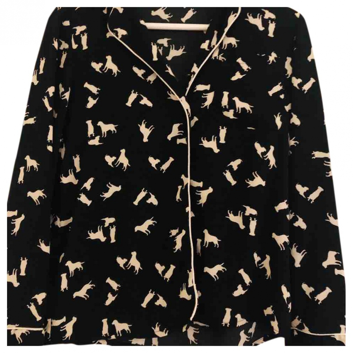 Pinko \N Multicolour Cotton  top for Women 42 IT
