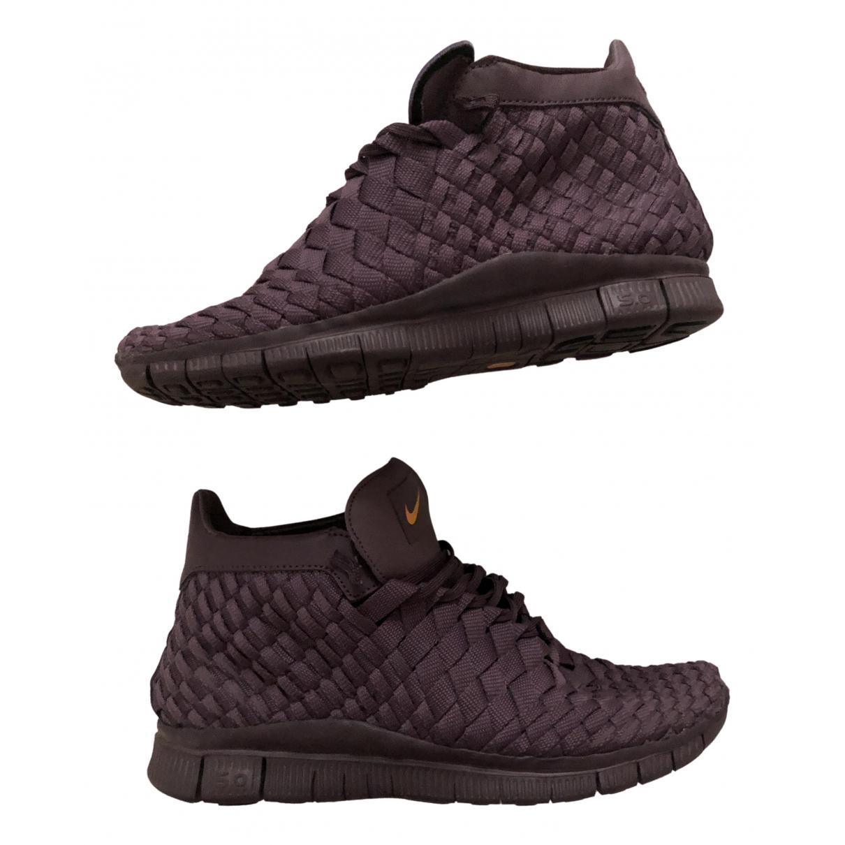 Nike \N Sneakers in  Lila Leinen