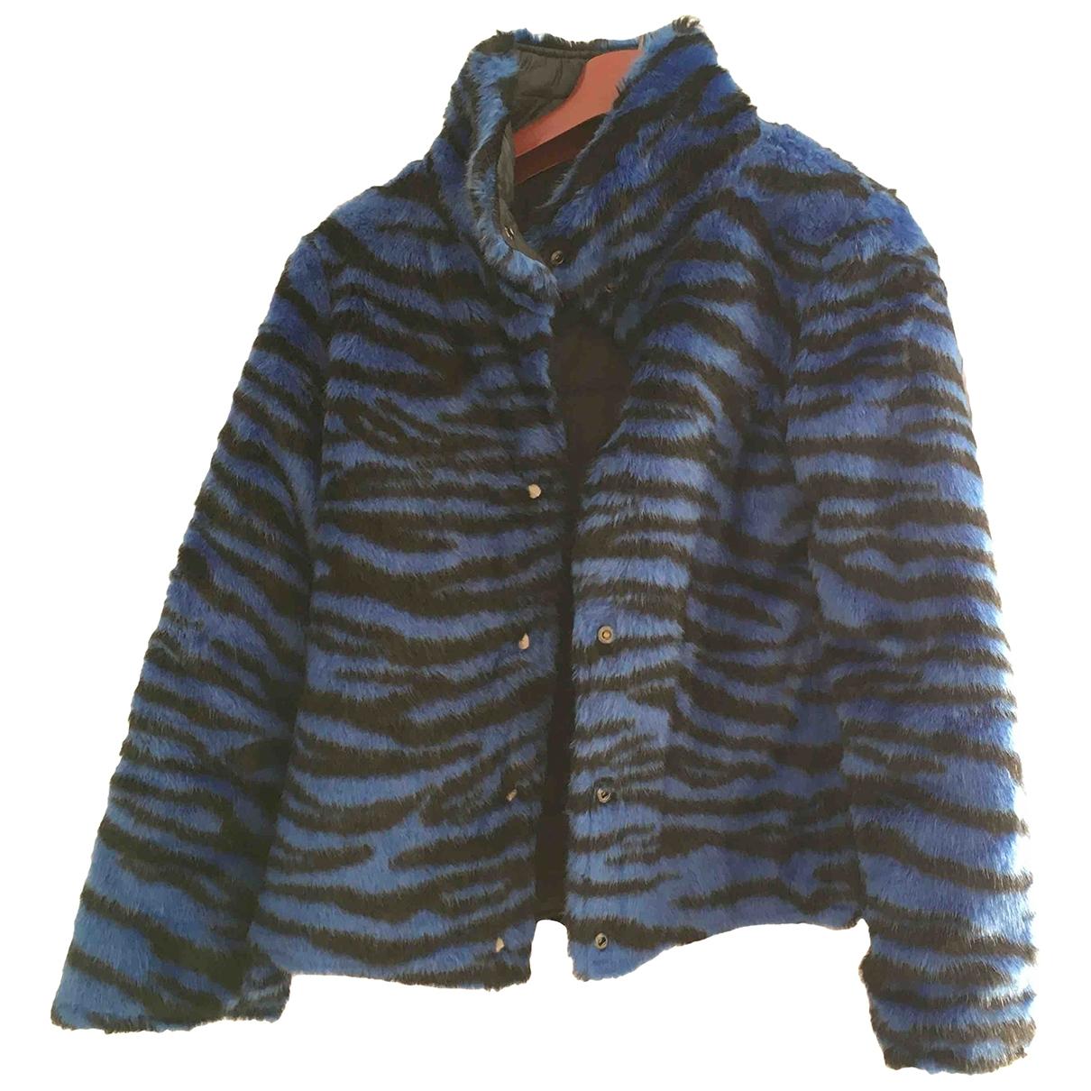 Liu.jo \N Blue Faux fur jacket for Women 38 IT