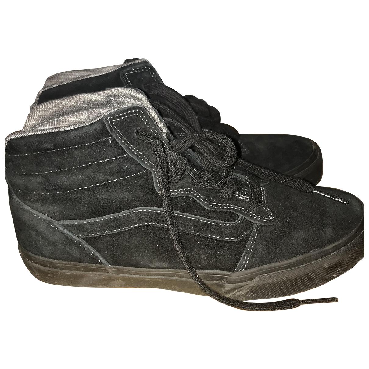 Vans \N Black Suede Trainers for Women 37.5 EU